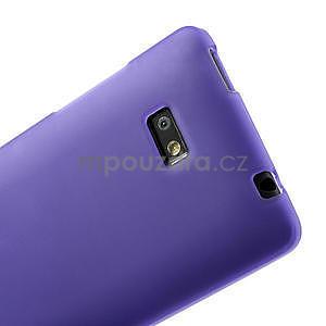 Gelové matné pouzdro pro HTC Desire 600- fialové - 5