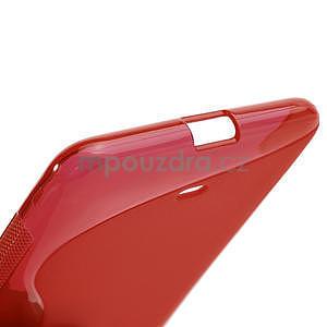 Gelové S-line pouzdro pro Nokia Lumia 625- červené - 5
