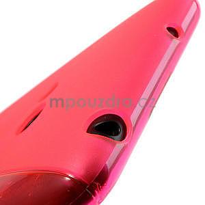 Gelové S-line pouzdro pro Nokia Lumia 625- růžové - 5
