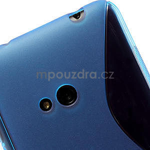 Gelové S-line pouzdro pro Nokia Lumia 625- modré - 5