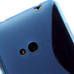 Gelové S-line pouzdro pro Nokia Lumia 625- modré - 5/6