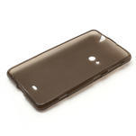 Gelové matné pouzdro pro Nokia Lumia 625- šedé - 5/5
