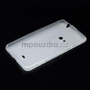 Gelové matné pouzdro pro Nokia Lumia 625- bílé - 5