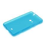 Gelové matné pouzdro pro Nokia Lumia 625- světlemodré - 5/5
