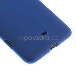 Gelové matné pouzdro pro Nokia Lumia 625- modré - 5