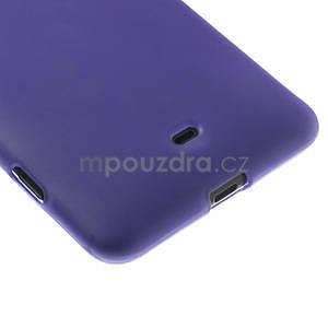 Gelové matné pouzdro pro Nokia Lumia 625- fialové - 5