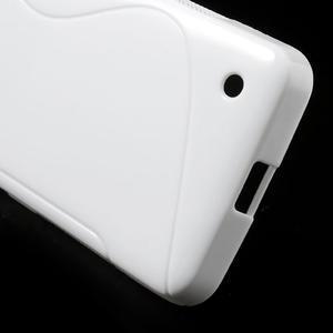 Gelové S-line pouzdro na Nokia Lumia 630- bílé - 5