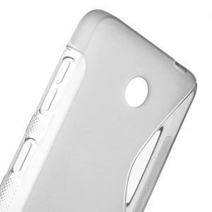 Gelové S-line pouzdro na Nokia Lumia 630- šedé - 5