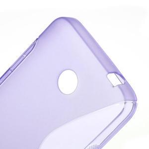 Gelové S-line pouzdro na Nokia Lumia 630- fialové - 5