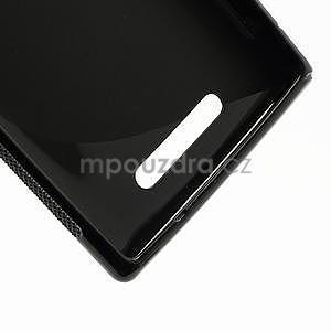 Gelové S-liné pouzdro pro Nokia Lumia 925- černé - 5