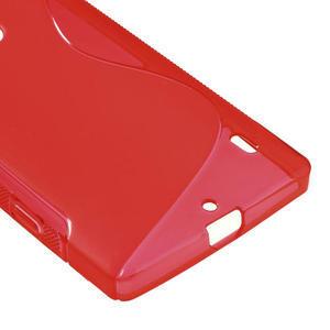 Gelové S-line pouzdro na Nokia Lumia 930- červené - 5