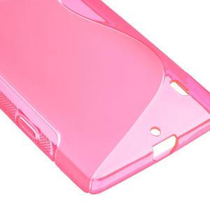 Gelové S-line pouzdro na Nokia Lumia 930- růžové - 5