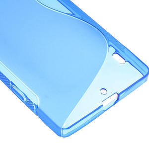 Gelové S-line pouzdro na Nokia Lumia 930- modré - 5