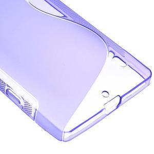 Gelové S-line pouzdro na Nokia Lumia 930- fialové - 5