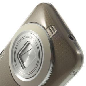 Gelové Ultraslim pouzdro na Samsung Galaxy K Zoom- šedé - 5