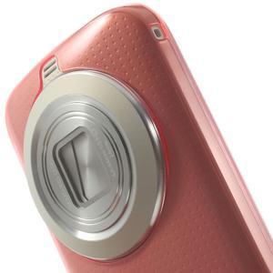 Gelové Ultraslim pouzdro na Samsung Galaxy K Zoom- červené - 5