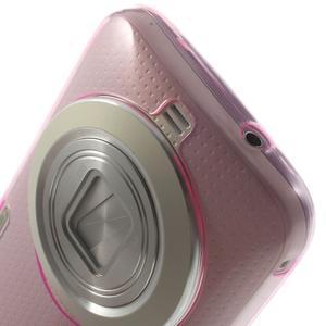 Gelové Ultraslim pouzdro na Samsung Galaxy K Zoom- růžové - 5