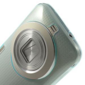 Gelové Ultraslim pouzdro na Samsung Galaxy K Zoom- světlemodré - 5