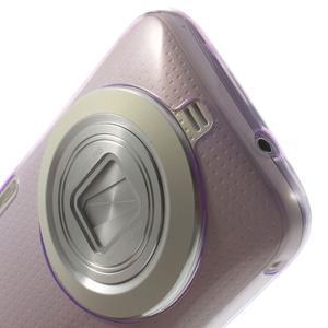 Gelové Ultraslim pouzdro na Samsung Galaxy K Zoom- fialové - 5