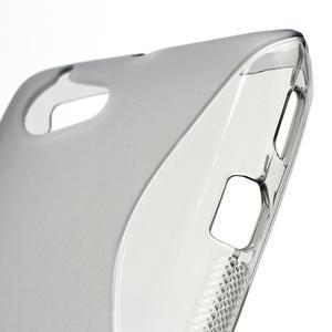 Gelové S-line pouzdro na Sony Xperia L C2105- šedé - 5