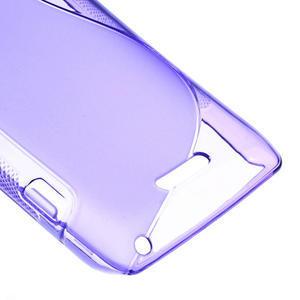 Gelové S-line pouzdro na Sony Xperia L C2105- fialové - 5