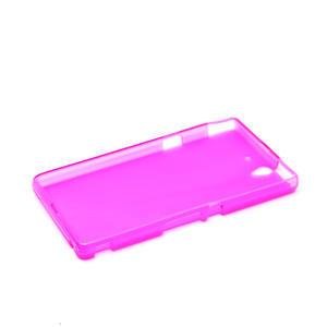 Gelové pouzdro na Sony Xperia Z L36i C6603- růžové - 5
