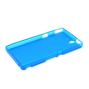 Gelové pouzdro na Sony Xperia Z L36i C6603- modré - 5