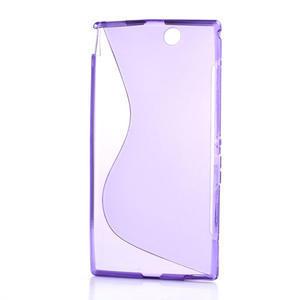 Gelove S-line pouzdro na Sony Xperia Z ultra- fialové - 5