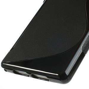 Gelové S-line pouzdro na Sony Xperia Z1 C6903 L39- černé - 5