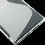 Gelové S-line pouzdro na Sony Xperia Z1 C6903 L39- transparentní - 5/5