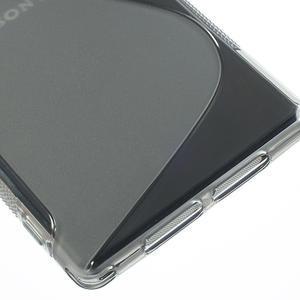 Gelové S-line pouzdro na Sony Xperia Z1 C6903 L39- šedé - 5