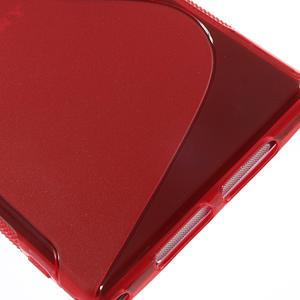Gelové S-line pouzdro na Sony Xperia Z1 C6903 L39- červené - 5