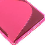 Gelové S-line pouzdro na Sony Xperia Z1 C6903 L39- růžové - 5/5