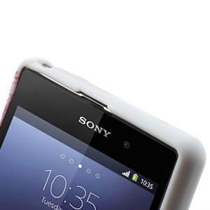 Gelové pouzdro na Sony Xperia Z1 C6903 L39- srdce - 5