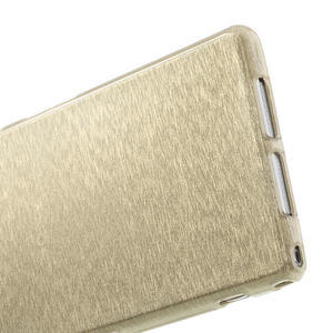 Kartáčované pouzdro na Sony Xperia Z1 C6903 L39- zlaté - 5