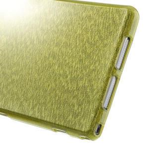 Kartáčované pouzdro na Sony Xperia Z1 C6903 L39- zelené - 5