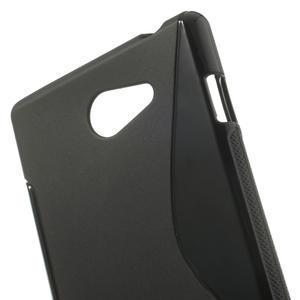 Gelové S-line pouzdro na Sony Xperia M2 D2302- černé - 5