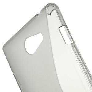 Gelové S-line pouzdro na Sony Xperia M2 D2302- šedé - 5