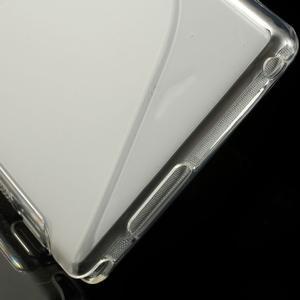 Gelové S-line pouzdro na Sony Xperia M2 D2302- transparentní - 5
