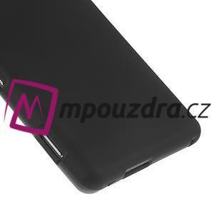 Gelové tenké pouzdro na Sony Xperia M2 D2302 - černé - 5