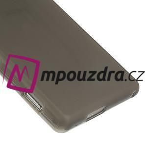 Gelové tenké pouzdro na Sony Xperia M2 D2302 - šedé - 5