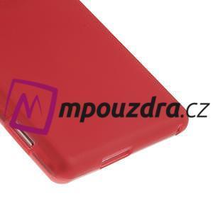 Gelové tenké pouzdro na Sony Xperia M2 D2302 - červené - 5