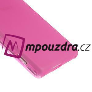 Gelové tenké pouzdro na Sony Xperia M2 D2302 - růžové - 5