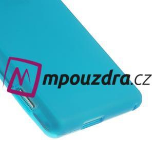 Gelové tenké pouzdro na Sony Xperia M2 D2302 - světlemodré - 5