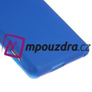 Gelové tenké pouzdro na Sony Xperia M2 D2302 - modré - 5