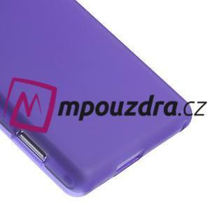 Gelové tenké pouzdro na Sony Xperia M2 D2302 - fialové - 5