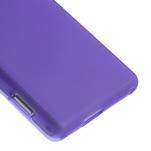 Gelové tenké pouzdro na Sony Xperia M2 D2302 - fialové - 5/5