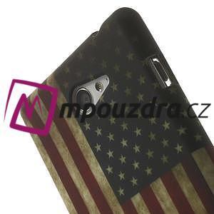Gelové pouzdro na Sony Xperia M2 D2302 - USA vlajka - 5