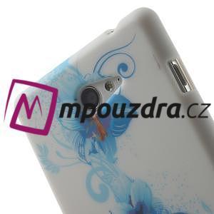 Gelové pouzdro na Sony Xperia M2 D2302 - modrá lilie - 5