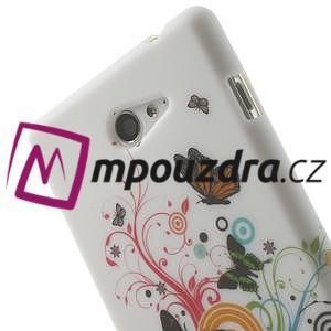 Gelové pouzdro na Sony Xperia M2 D2302 - barevní motýlci - 5